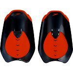 Image of Speedo Australia BLACK/SIREN RED FASTSKIN HAND PADDLE