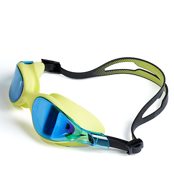Image of Speedo Australia  Vue Mirror Lime/Blue