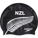 Image of Speedo Australia BLACK New Zealand Cap